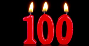 100th-birthday-candles