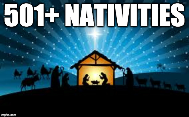 501+ Nativities Meme